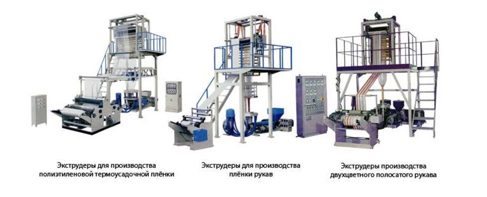 Экструдеры для производства полиэтиленовой продукции
