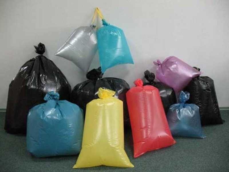 Полиэтиленовые мешки для мусора - это вторичный продукт