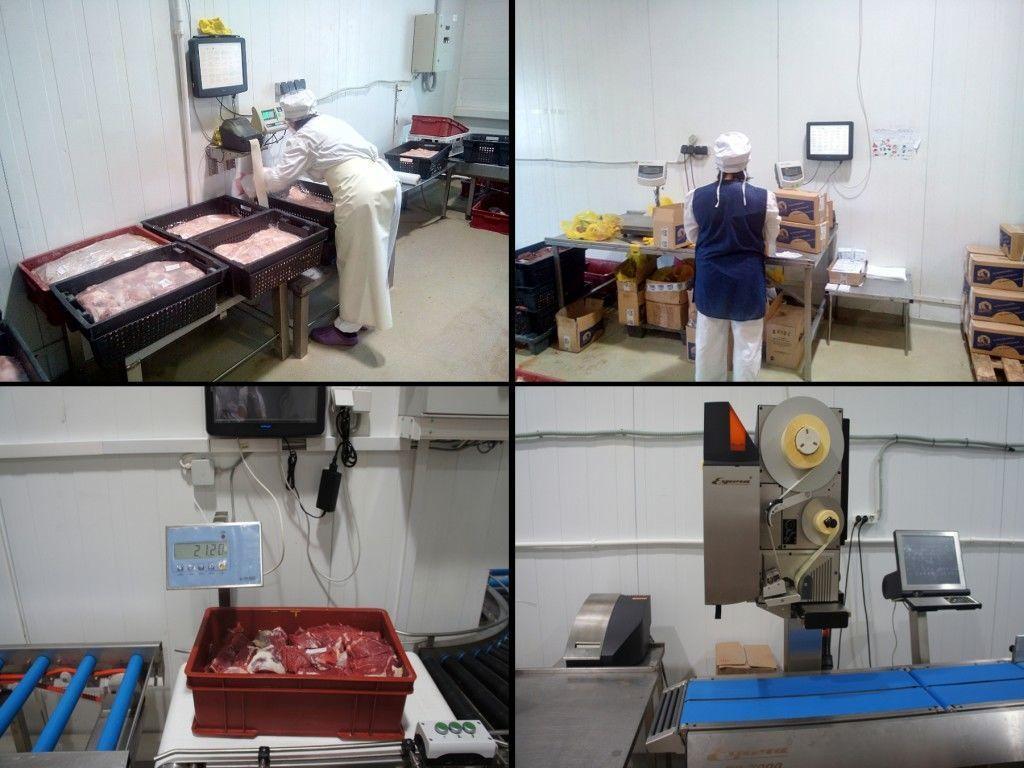 Линии для производства полуфабрикатов нужно распологать в специальных помещениях, отвечающих санитарным нормам