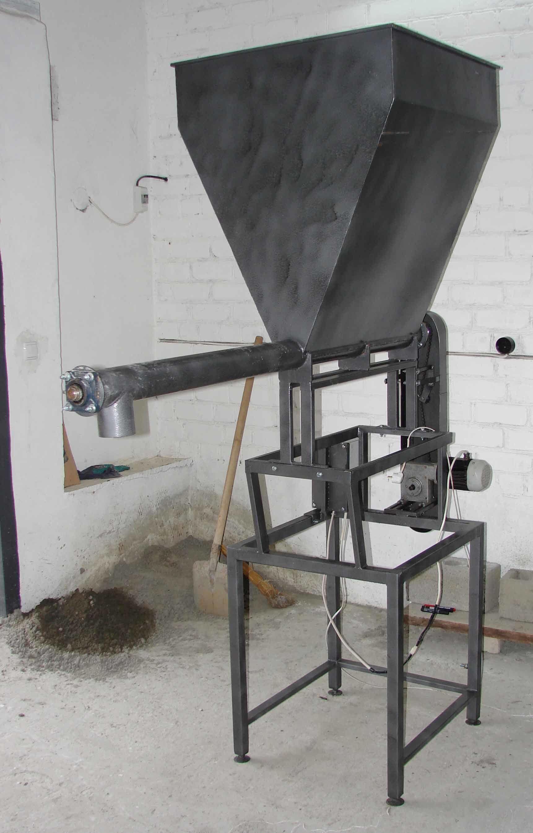 Шнековый дозатор для сыпучих продуктов своими руками 45