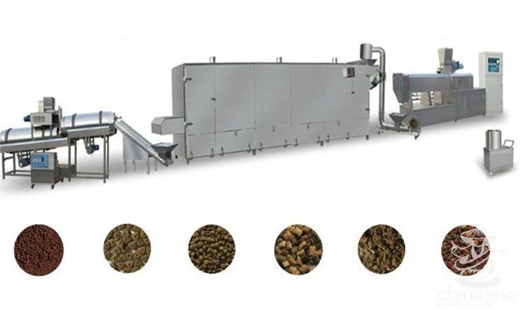 линия производства кормов для собак