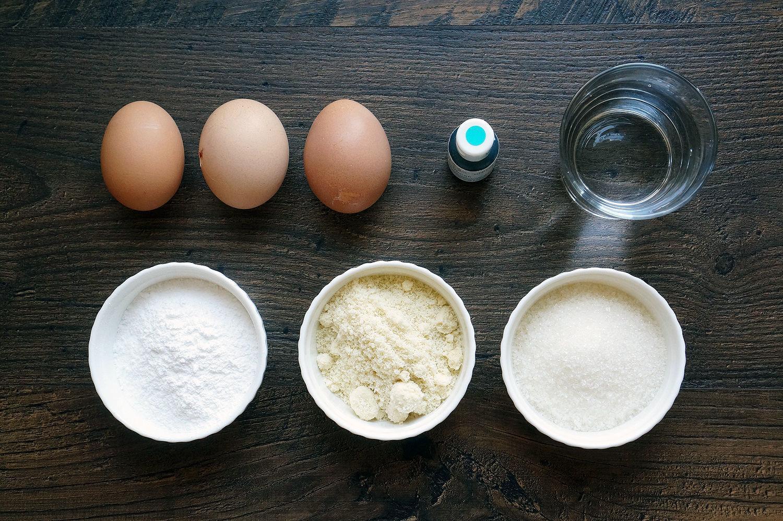 Макароны без миндальной муки рецепт с фото пошагово