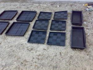 Формы для изготовления тротуарных плиток