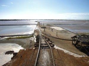 Добыча соли из бассейнов