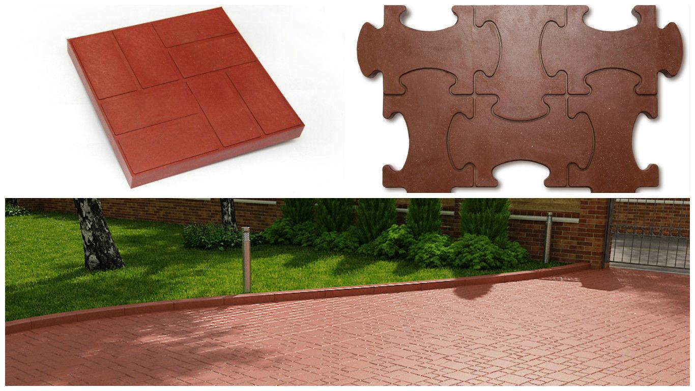 Полимерпесчаная тротуарная плитка: характеристика