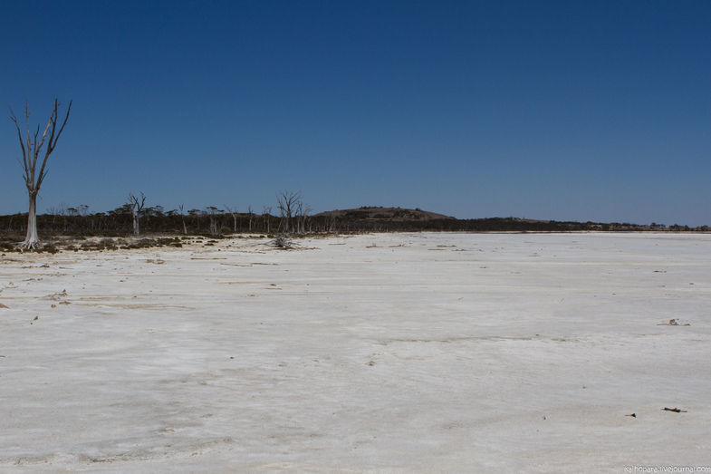 Солончаки и соляные озера Западной Австралии позволяют разрабатывать недры наружным способом