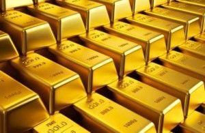 Современные запасы золота в слитках