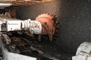 добыча угля закрытым способом