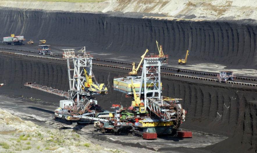 места добычи угля в россии
