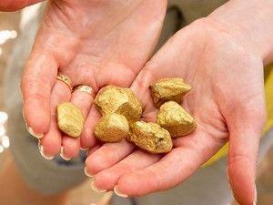 места добычи золота