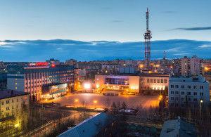 Город Мирный — алмазная «столица» России, расположенная в Якутии (Саха) в 1200 км. от Якутска.