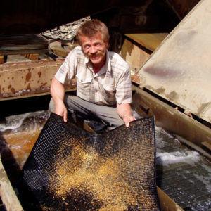 Непромышленная добыча золота