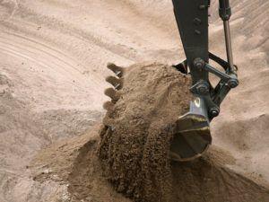 Песок - осадочная горная порода, а также искусственный материал, состоящий из зёрен горных пород