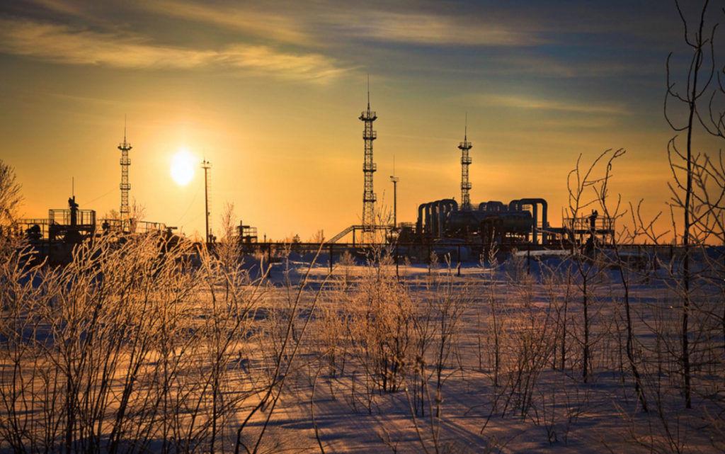Самотлорское нефтяное месторождение Нижневартовск, Россия
