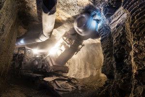 Техника для подземной добычи алмазов