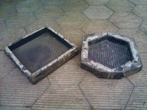 Пластиковая форма для тротуарной плитки своими руками