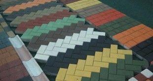 Производство тротуарной плитки в домашних условиях