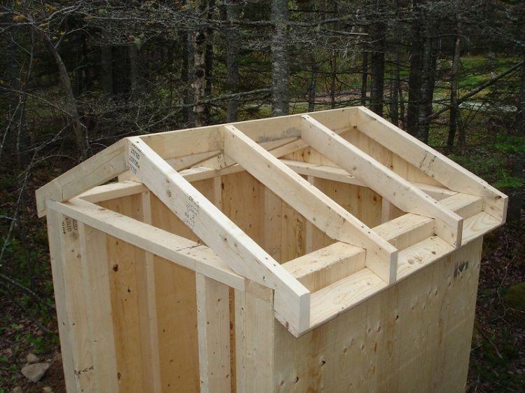 Балки для крыши из профнастила или шифера