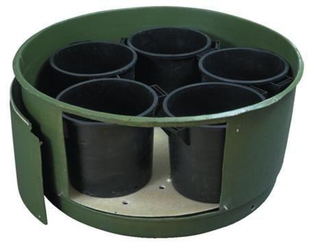 Конструкция с барабанным бункером