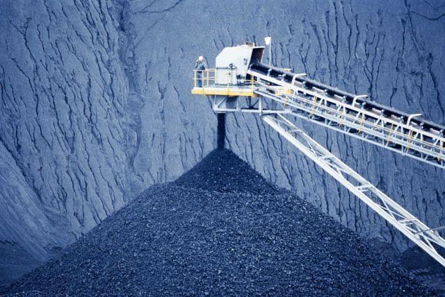 Конвейер для добычи угля открытым способом