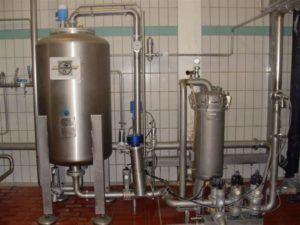 Оборудование для фильтрации пива