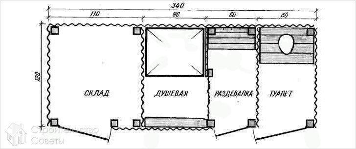 План хозблока