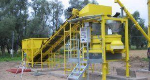 Производство бетона на мини заводе