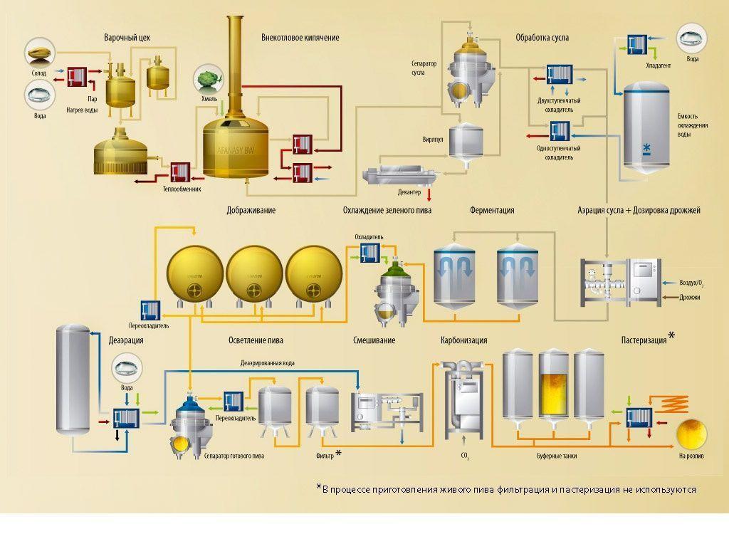 Все о производстве пива в домашних условиях 986