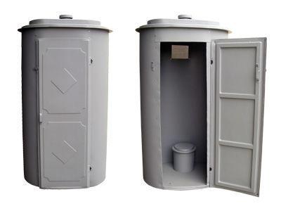 Современные пластиковые кабинки для дачи