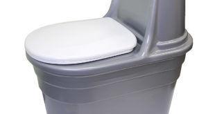 Торфяной компостирующий био туалет Биоэкология Biocomfort Plus с вентилятором