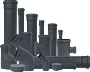 Трубы и фитинги для вентиляции в туалете на даче