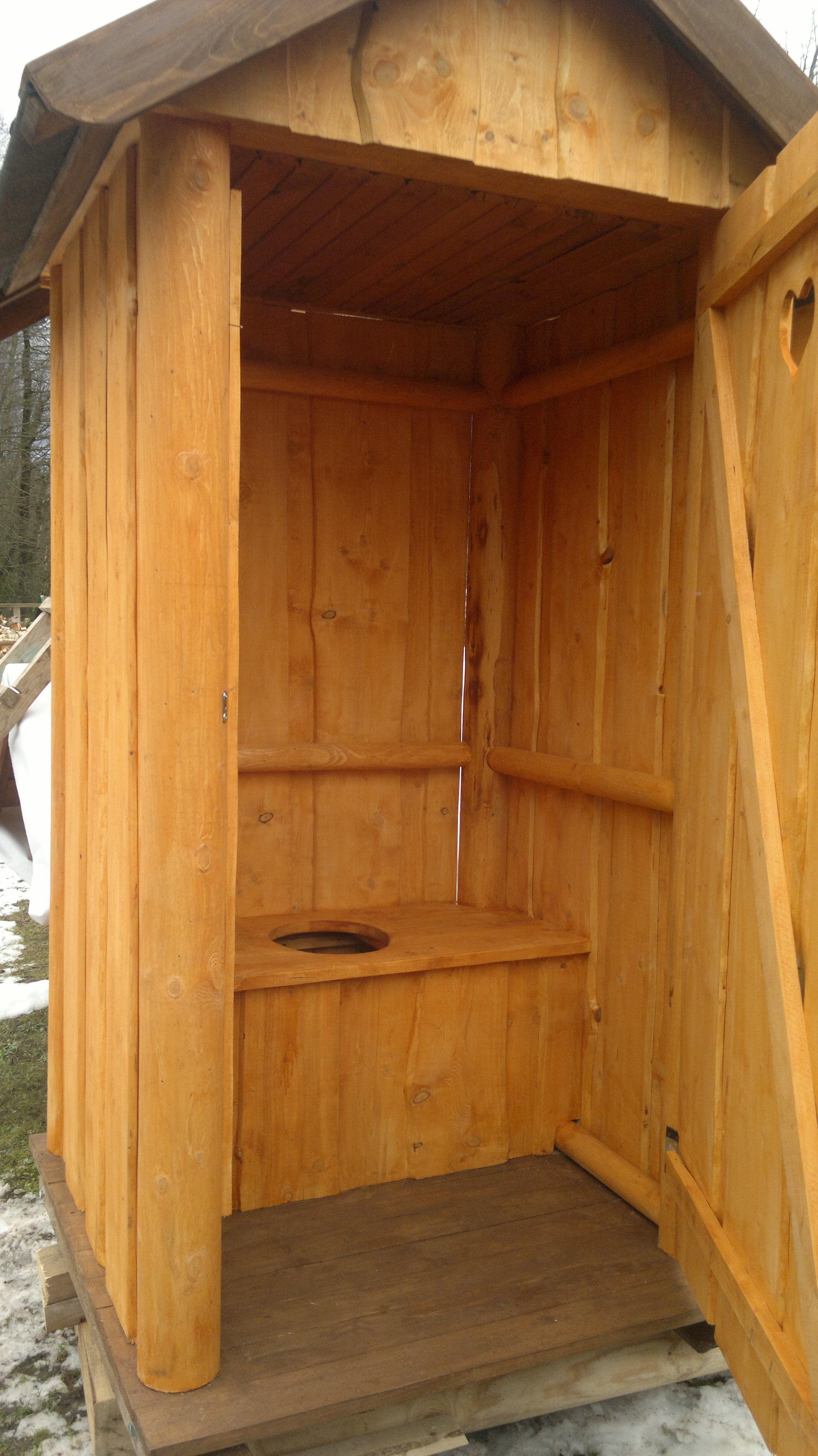 Душ-туалет для дачи