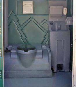 Туалетная кабинка Poly Portables