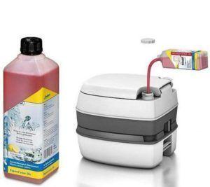 Жидкостный портативный биотуалет
