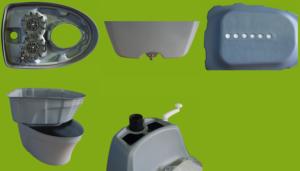Биотуалет для дачи Piteco 201