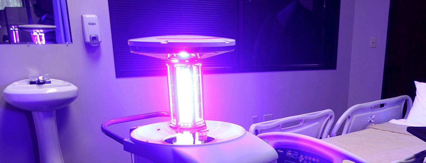 Дезинфекция лампами