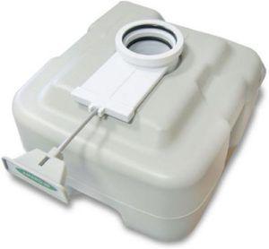 Дренажный клапан биотуалета Enviro 10 полностью герметичен