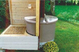 Накопительный бак можно устанавливать снаружи помещения