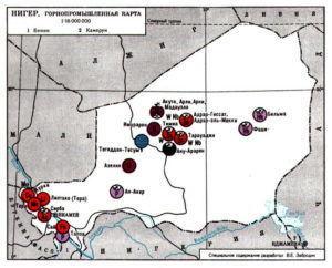 Нигер (горнопромышленная карта)
