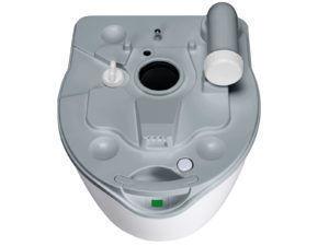 Нижний бак туалета Porta Potti Excellence оснащен индикатором заполнения