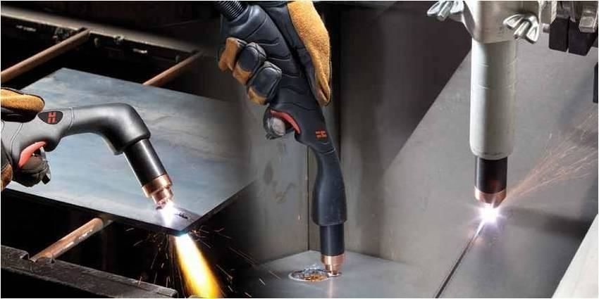 Оборудование для ручной плазменной резки металла