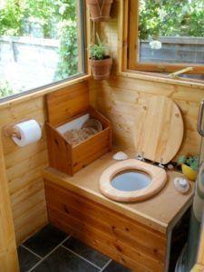 Обустройство торфяного туалета на даче