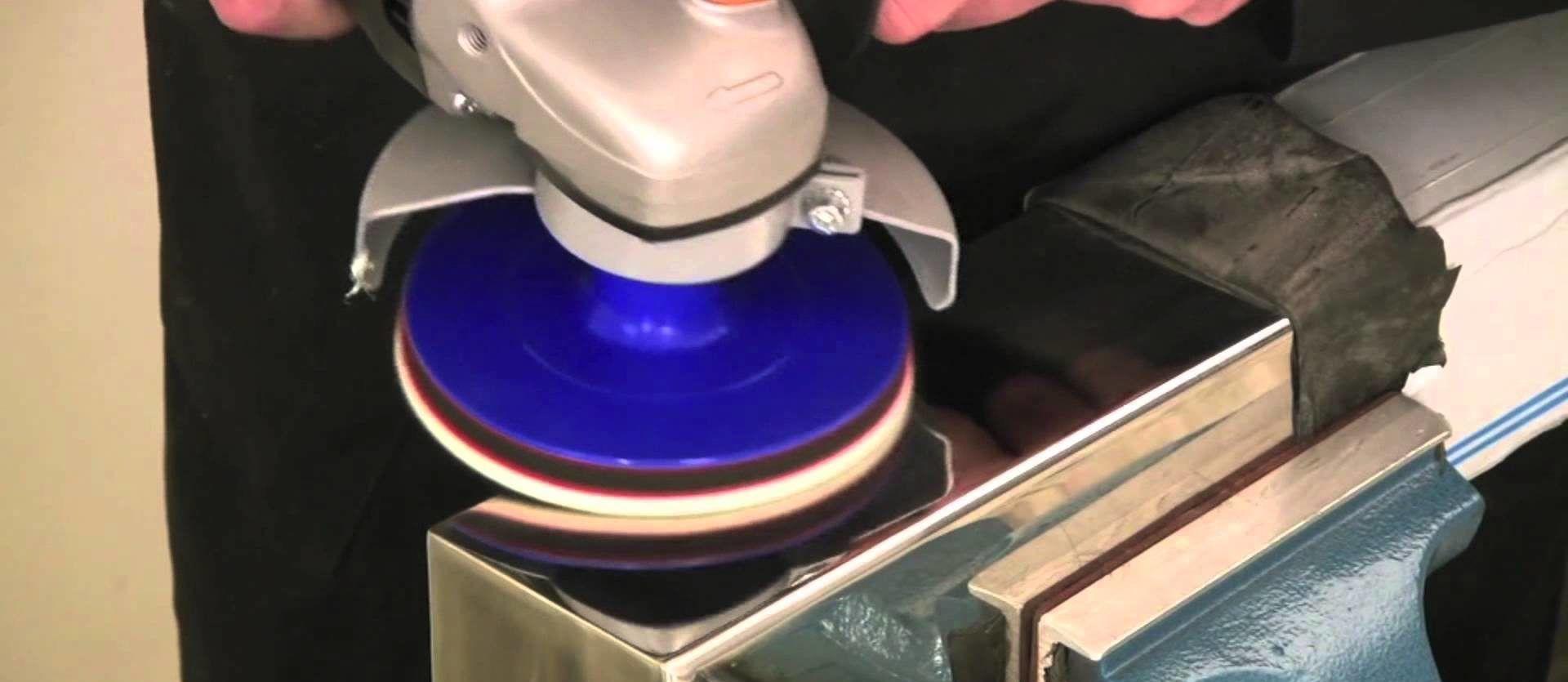 Полировка металла болгаркой