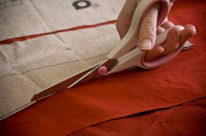 Раскройка ткани
