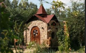 Сказочный туалет из камня