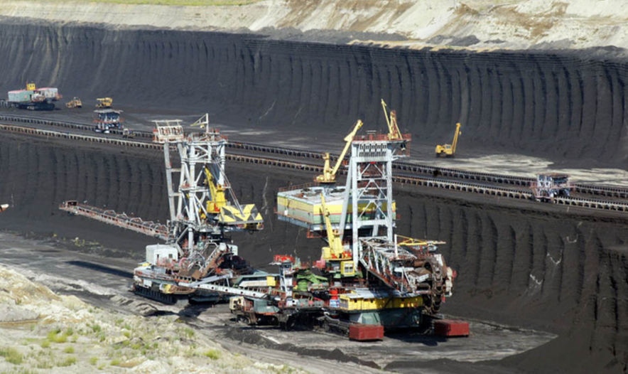 Техника для добычи угля