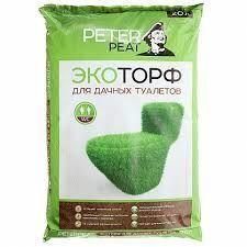 Торф для биотуалетов Peter Peat