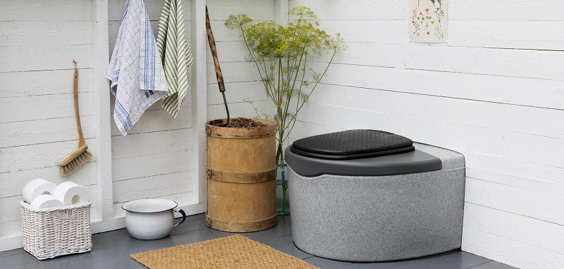 Торфяной компостирующий туалет Кеккила Дуоматик