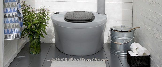 Торфяной компостирующий туалет Kekkila в дизайне