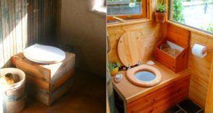 Торфяной туалет сделанный своими руками